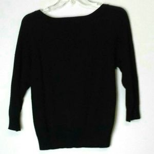 Forever 21 Sweaters - Forever 21 Sequin 3/4 Sleeve Cardigan Black Small